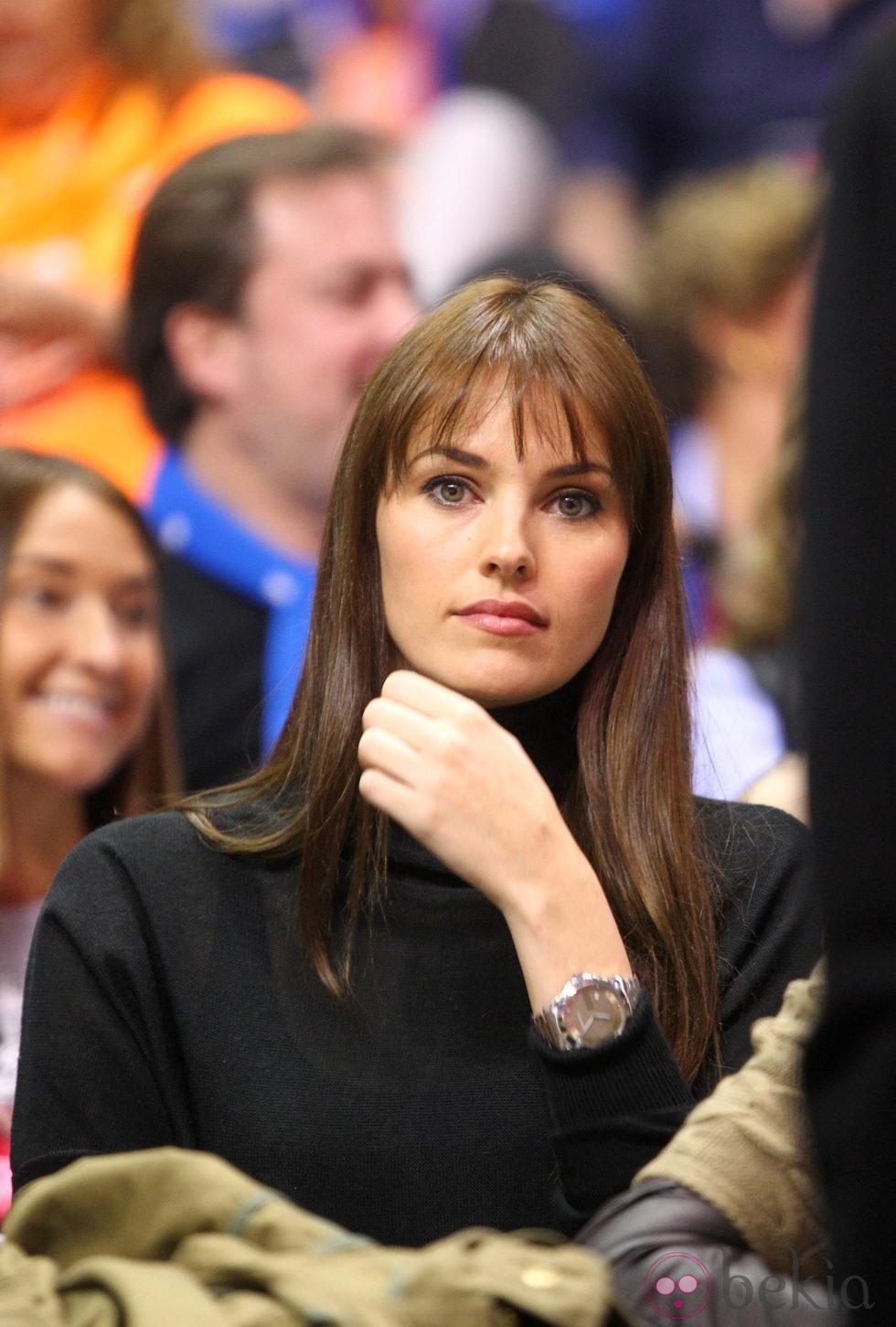 Helen Lindes en la Copa del Rey de baloncesto 2014