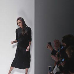 Victoria Beckham en su desfile de la Semana de la Moda de Nueva York 2014