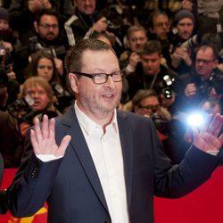 Lars von Trier en la premiere de Nymphomaniac en el Festival de Cine Internacional de Berlín 2014