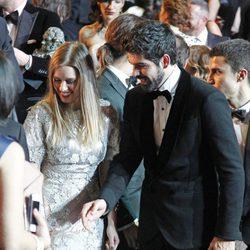 Miguel Ángel Muñoz y Manuela Vellés en los Premios Goya 2014
