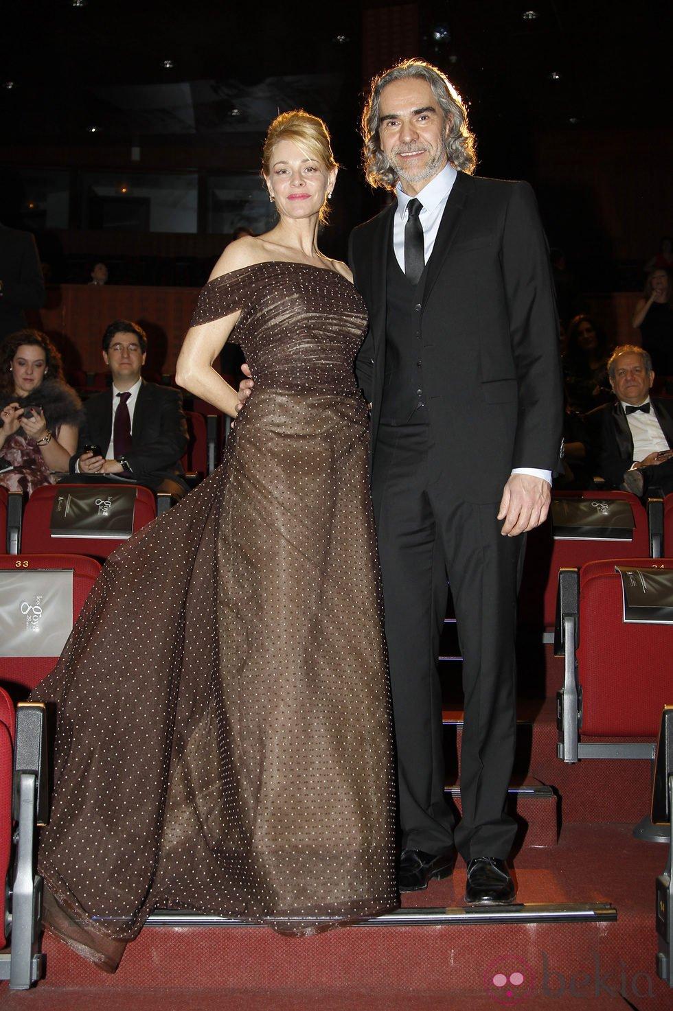 Belén Rueda y Roger Vincent en los Premios Goya 2014
