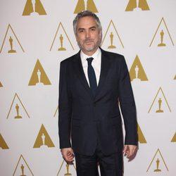 Alfonso Cuarón en el almuerzo de los nominados a los Oscar 2014