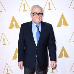 Martin Scorsese en el almuerzo de los nominados a los Oscar 2014