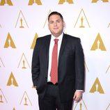 Jonah Hill en el almuerzo de los nominados a los Oscar 2014