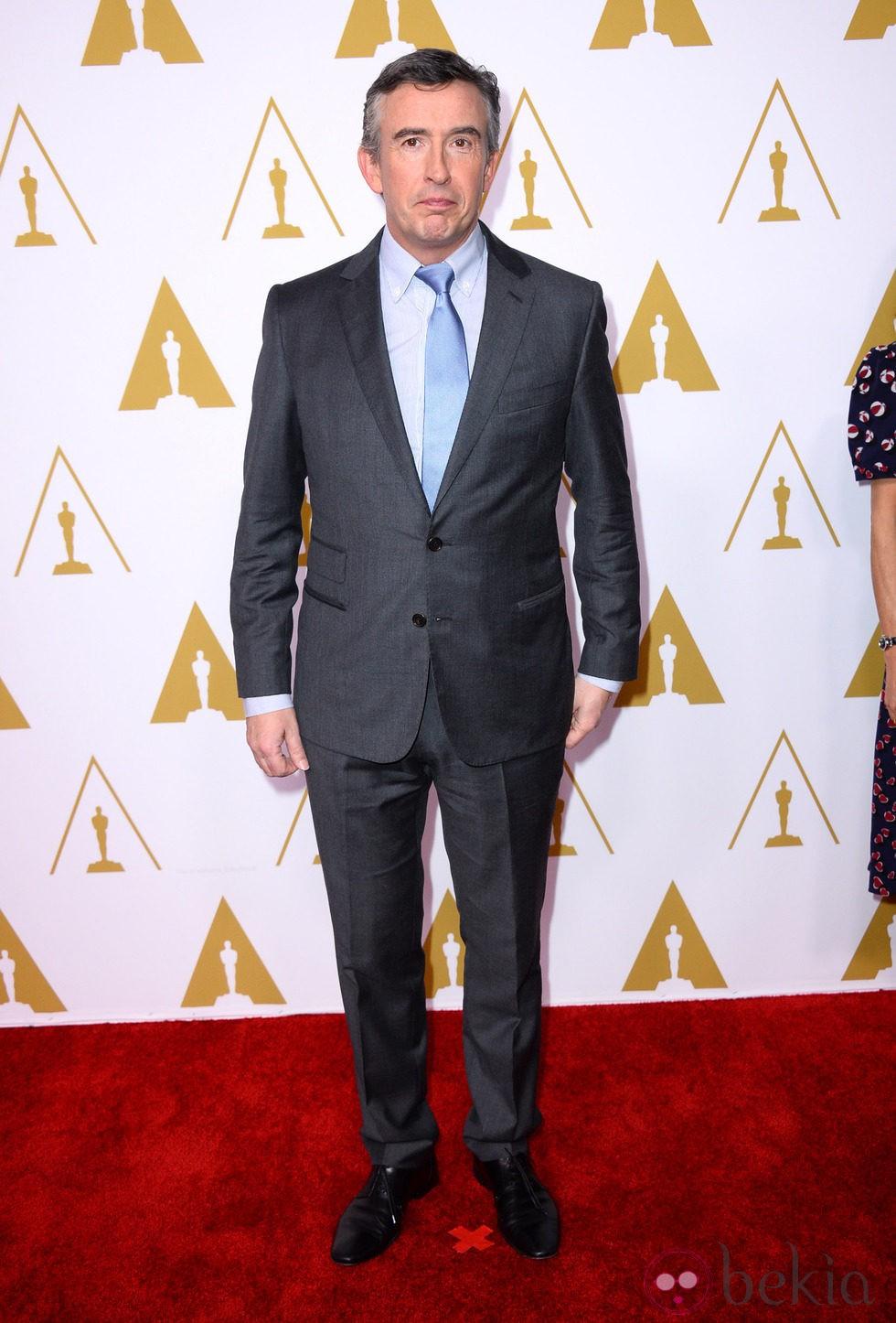 Steve Coogan en el almuerzo de los nominados a los Oscar 2014
