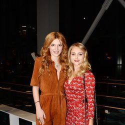 Bella Thorne y AnnaSophia Robb en la Semana de la Moda de Nueva York 2014