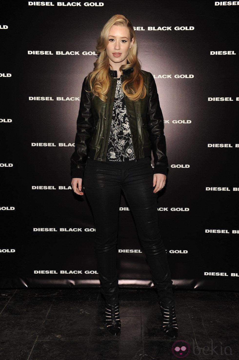 Iggy Azalea en la Semana de la Moda de Nueva York 2014
