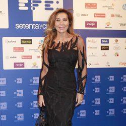 Norma Duval en la inauguración de la nueva sede de la Agencia EFE