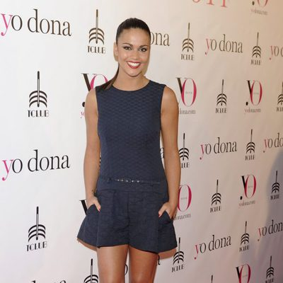 Lara Álvarez en una fiesta Yo Dona