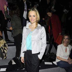 Laura Pamplona en el desfile de Miguel Palacio en Madrid Fashion Week otoño/invierno 2014/2015