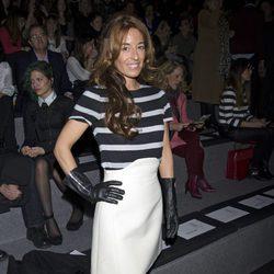 Monica Martin Luque en el desfile de Devota&Lomba en Madrid Fashion Week otoño/invierno 2014/2015