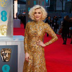 Fearne Cotton en la alfombra roja de los BAFTA 2014
