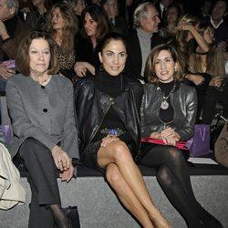 Natalia Figueroa, Toni Acosta y Alejandra Martos en el desfile de Roberto Torretta en Madrid Fashion Week otoño/invierno 2014/2015