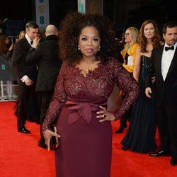 Oprah Winfrey en los BAFTA 2014