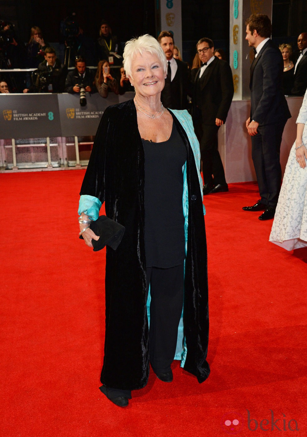 Judi Dench en los BAFTA 2014