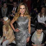 Ana Obregón en el desfile de Hannibal Laguna en Madrid Fashion Week 2014