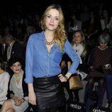 Carolina Bang en el desfile de Hannibal Laguna en Madrid Fashion Week 2014