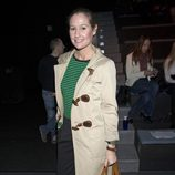 Fiona Ferrer en el front row de Juanjo Oliva en Madrid Fashion Week 2014