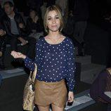 Natalia en el front row de Juanjo Oliva en Madrid Fashion Week 2014