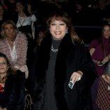 Massiel en el front row de Miguel Marinero y Jesús Lorenzo en Madrid Fashion Week 2014