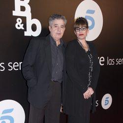 Carlos Iglesias y Neus Sanz en el estreno de 'B&B, de boca en boca'