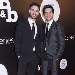 Dani Rovira y Fran Perea en el estreno de 'B&B, de boca en boca'