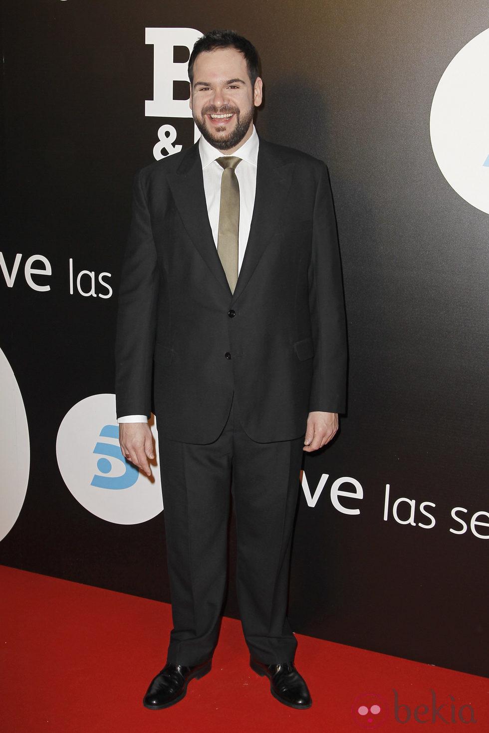 Jorge Usón en el estreno de 'B&B, de boca en boca'