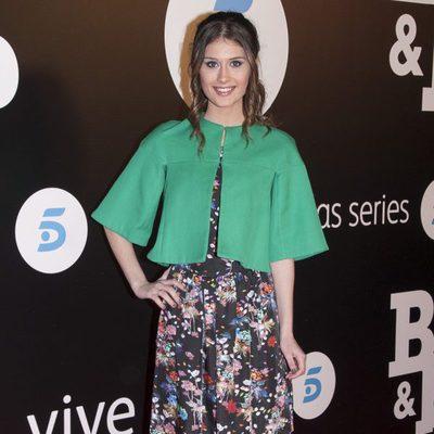 Nerea Camacho en el estreno de 'B&B, de boca en boca'