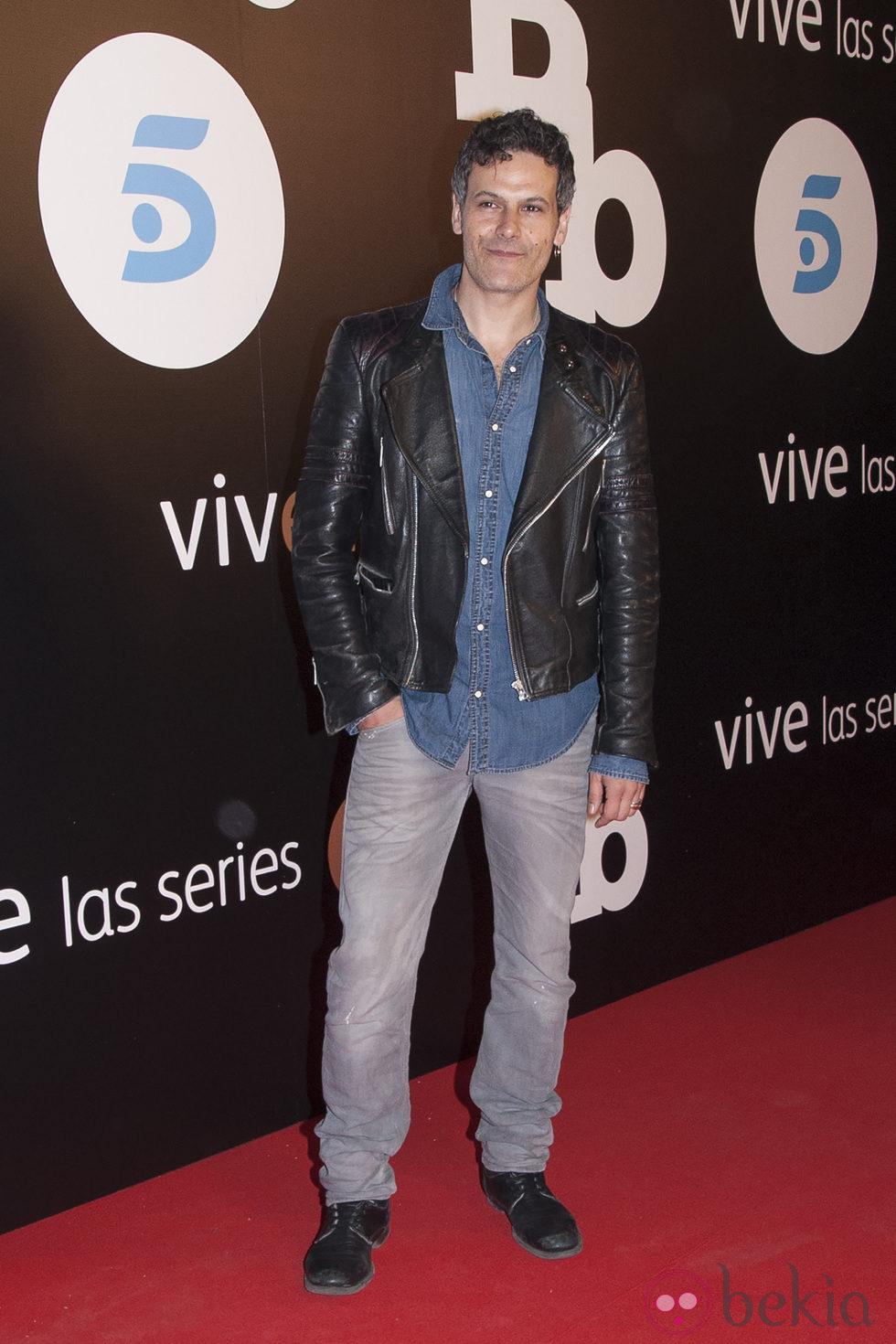 Roberto Enríquez en el estreno de 'B&B, de boca en boca'