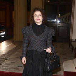 Helena Bonham Carter en una recepción en Buckingham Palace