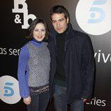 Ruth Nuñez y Alejandro Tous en el estreno de 'B&B, de boca en boca'