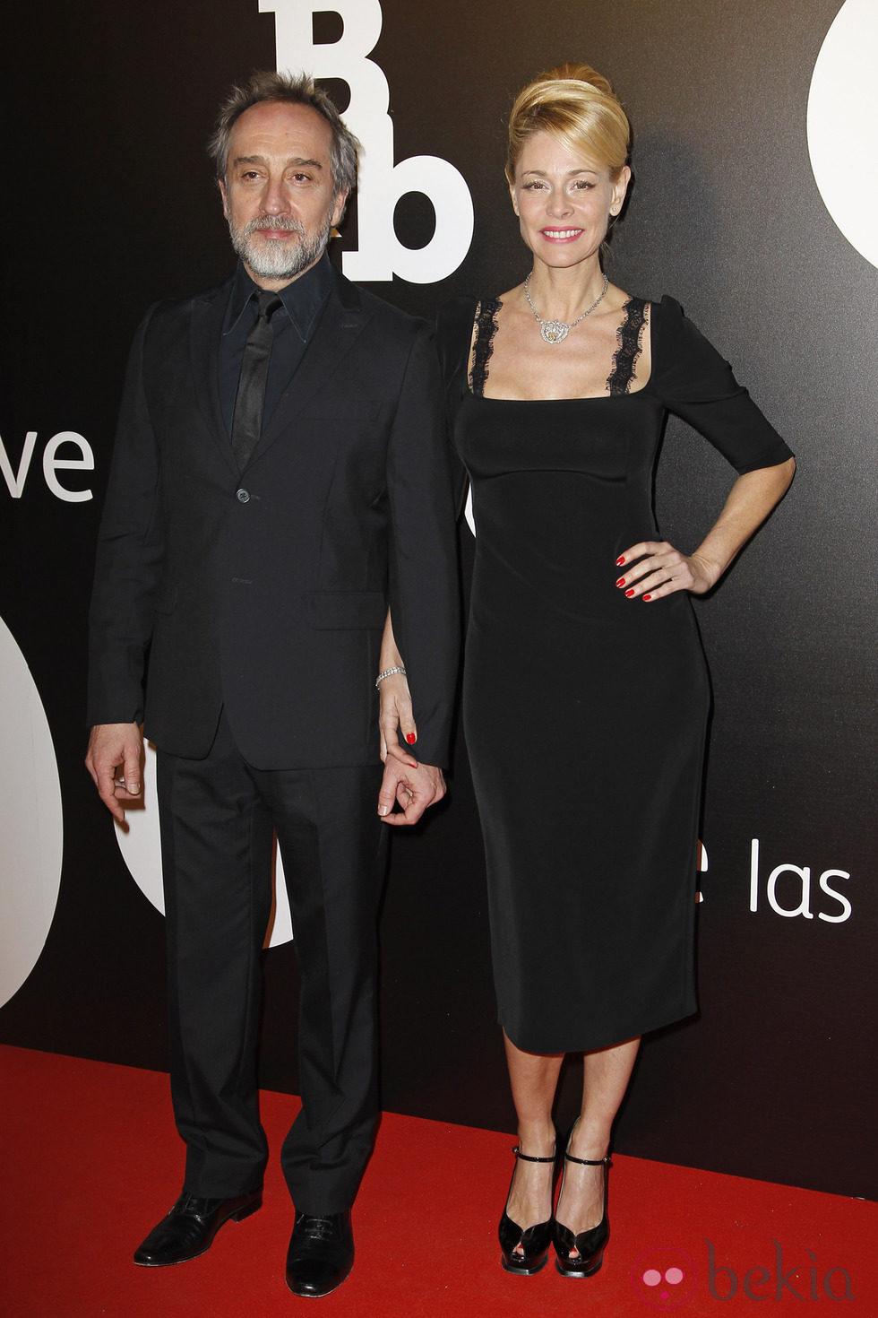 Belén Rueda y Gonzalo de Castro en el estreno de 'B&B, de boca en boca'