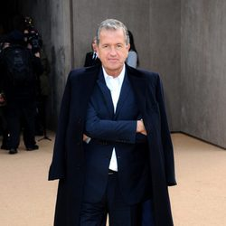 Mario Testino en el defile de Burberry en la Londres Fashion Week 2014