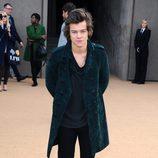 Harry Styles en el desfile de Burberry en la Londres Fashion Week 2014