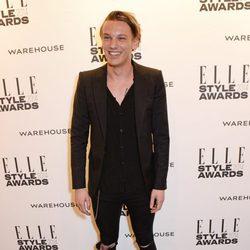 Jamie Campbell Bower en los Elle Style Awards 2014
