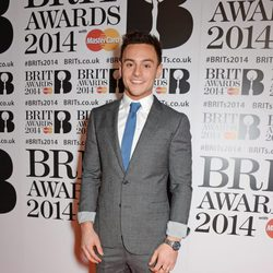 Tom Daley en los Brit Awards 2014