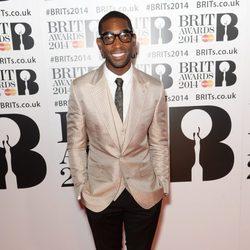 Tinie Tempah en los Brit Awards 2014