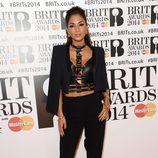 Nicole Scherzinger en los Brit Awards 2014