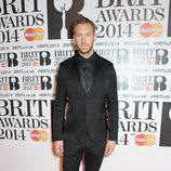 Calvin Harris en los Brit Awards 2014