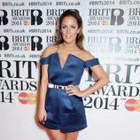 Caroline Flack en los Brit Awards 2014
