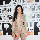 Jessie J en los Brit Awards 2014