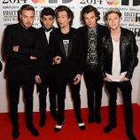 One Direction en los Brit Awards 2014