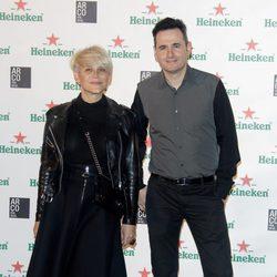 Luis Miguel Segui y Antonia San Juan en el cóctel previo a la inaugurción de ARCO 2014