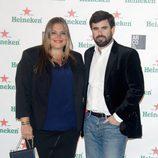 Caritina Goyanes y Antonio Matos en el cóctel previo a la inauguración de ARCO 2014