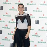 Eva Hache en el cóctel previo a la inauguración de ARCO 2014