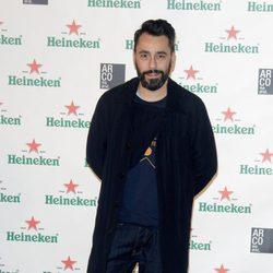 Juanjo Oliva en el cóctel previo a la inauguración de ARCO 2014