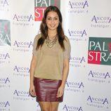Hiba Abouk en la fiesta de aniversario de un gimnasio