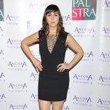 Carmen Ruiz en la fiesta de aniversario de un gimnasio