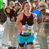 Blanca Suárez, deportista en el rodaje de 'Perdiendo el norte'