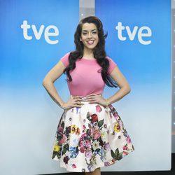 Ruth Lorenzo en la presentación de 'Mira quién va a Eurovisión'
